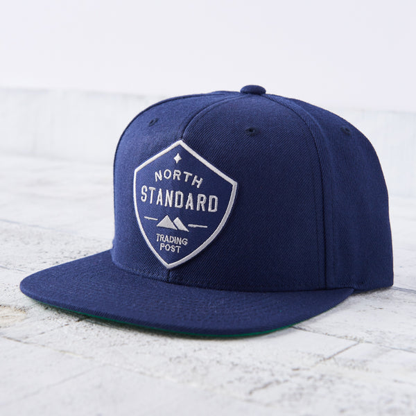 NSTP Snapback - Navy with Navy/Grey Shield