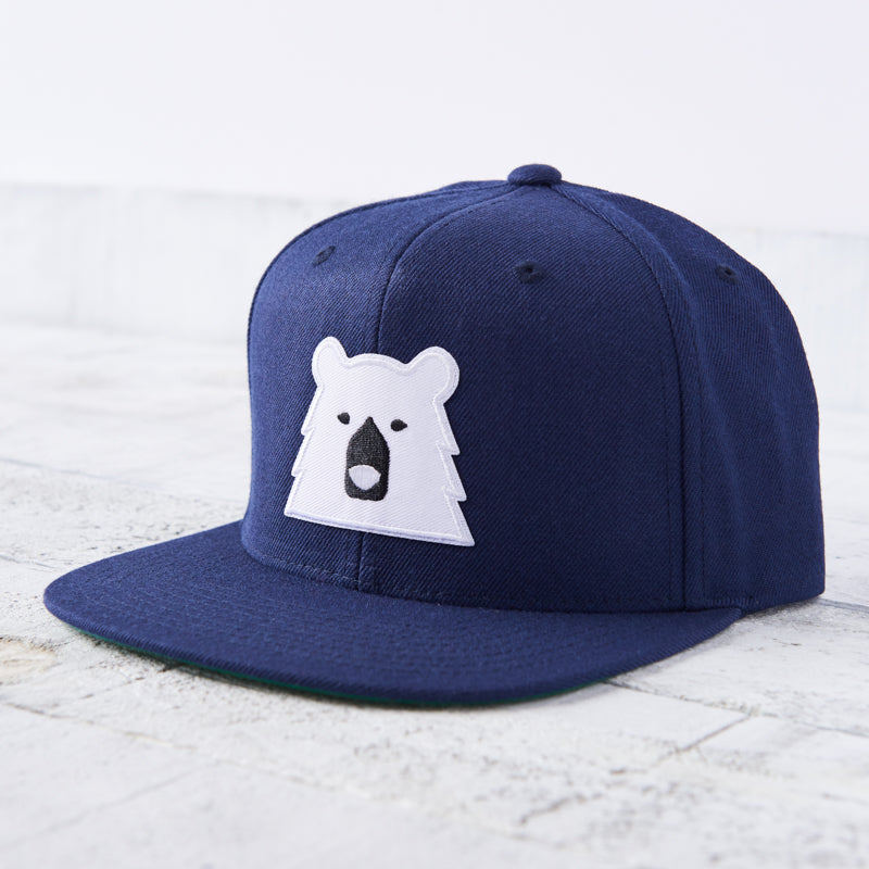 NSTP Snapback - Navy with Polar Bear