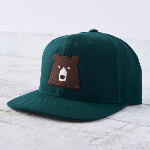 NSTP Snapback - Spruce with Brown Bear