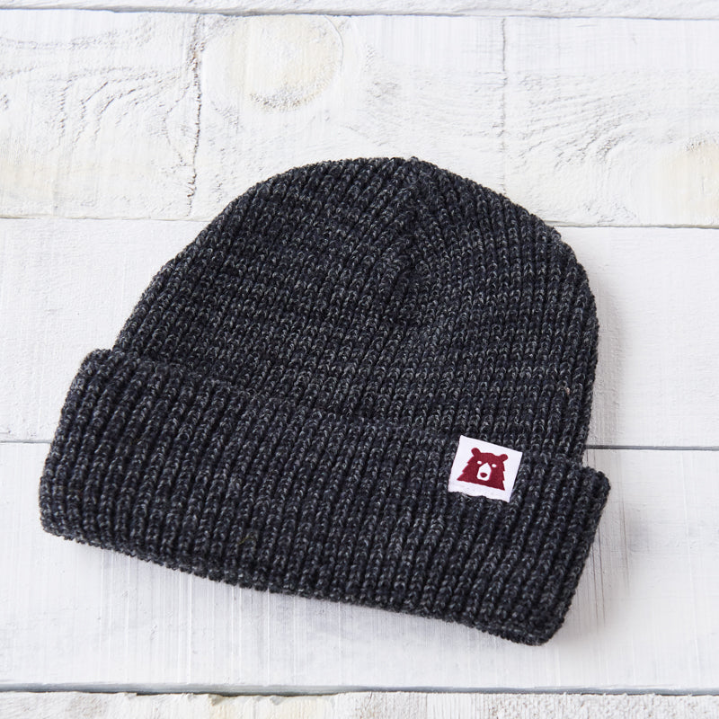 NSTP Snowfall Toque - Black Marl