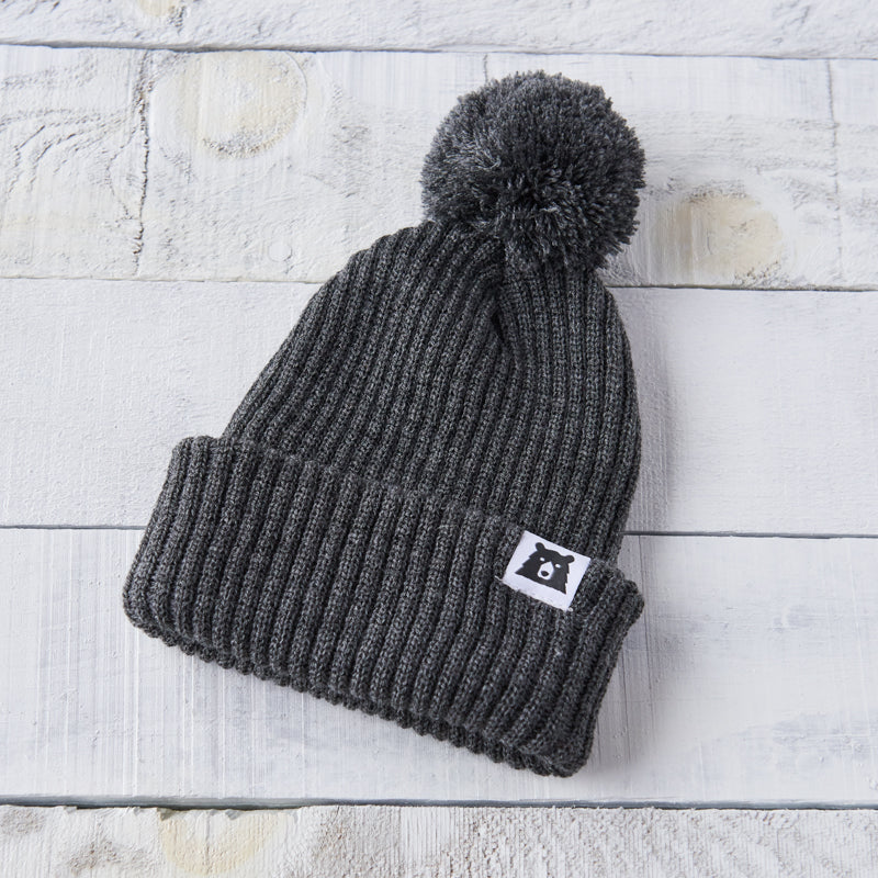 NSTP Youth Toboggan Toque - Charcoal