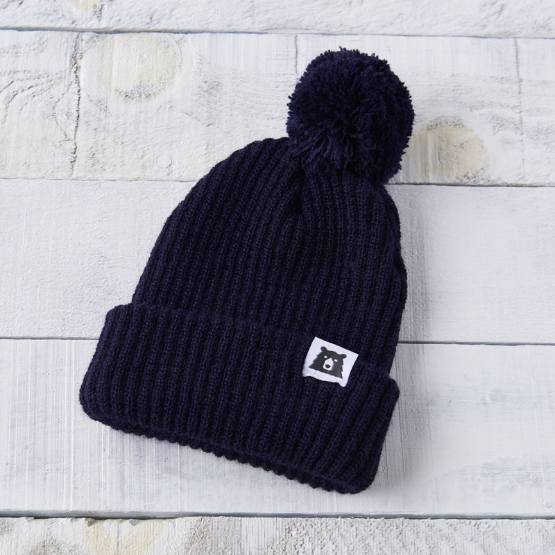 NSTP Youth Toboggan Toque - Navy