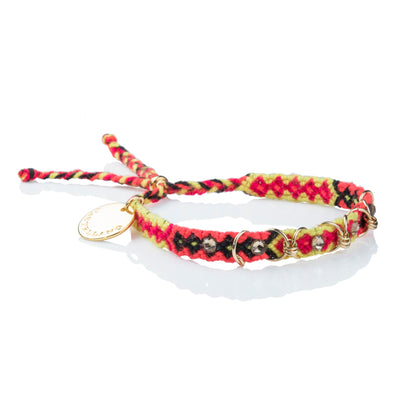 Free Spirit Bracelet- Yellow