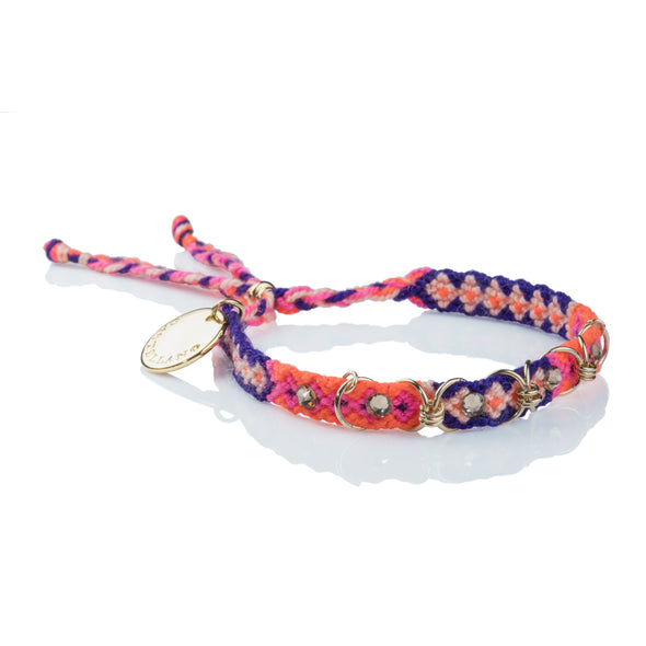 Free Spirit Bracelet- Purple