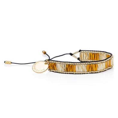 Love Yourself - Friendship Bracelet - Gold