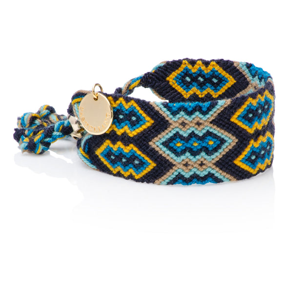 Good Vibes - Friendship Bracelet - Blue