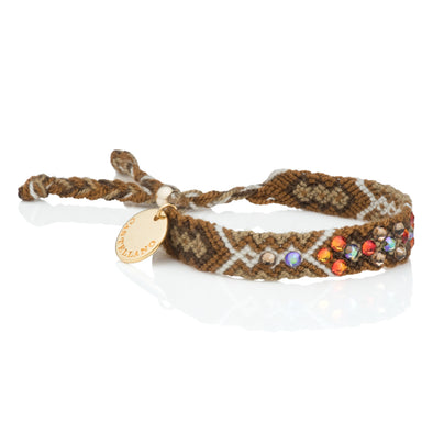 Be The Change - Friendship Bracelet - Camel