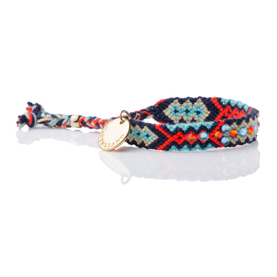 Be The Change - Friendship Bracelet - Blue Navy