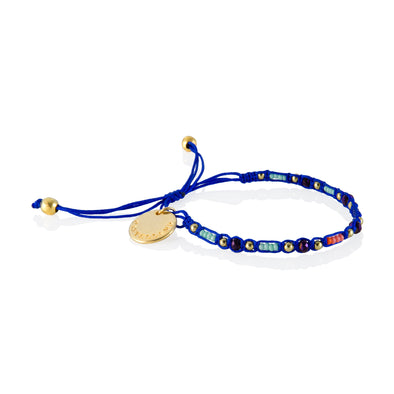 Smile - Friendship Bracelet - Blue