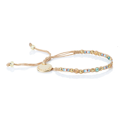 Smile - Friendship Bracelet - Beige