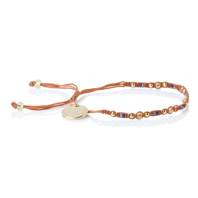 Smile - Friendship Bracelet - Camel