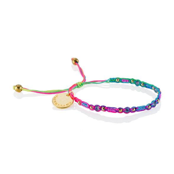 Smile - Friendship Bracelet - Rainbow