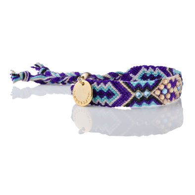 Sustainable - Wayuu Friendship Bracelet - Purple