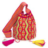 Talataa Large Wayuu Crossbody Bag - Orange