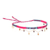 Wayuu Choker with natural stones - Blue
