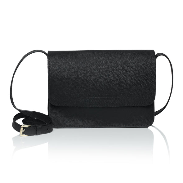 ISHI Pebble Leather Cross body