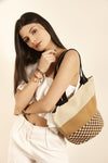Sa'wai Satchel - Beige-Brown