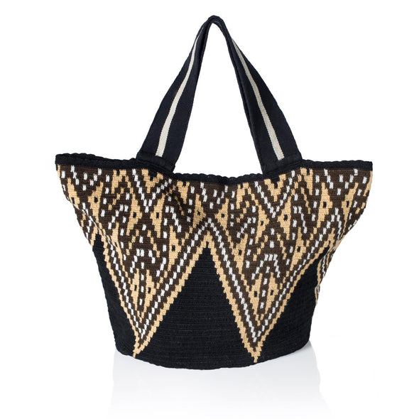 Maleiwa Tote Bag - Black