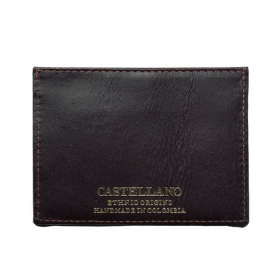 Isahi Wallet - dark brown
