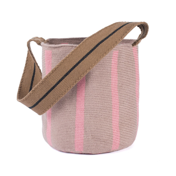Bucket bag - Rosa Malva