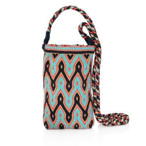 Makki Mini Wayuu Crossbody Bag - Blue