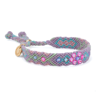 Be The Change - Friendship Bracelet - Electric Pink