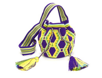 Wayuu Mochila - Small - Purple