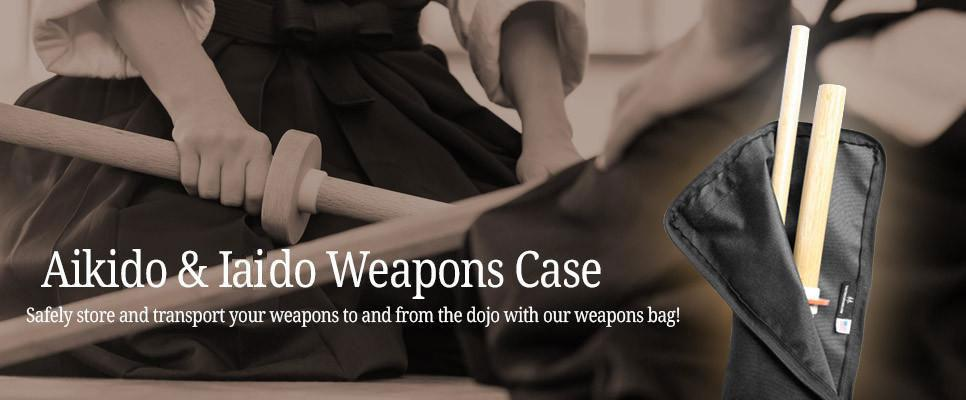 Aikido and Iiado Weapons Case