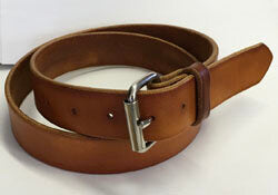 Skirting Leather Work Belt - Made to Order