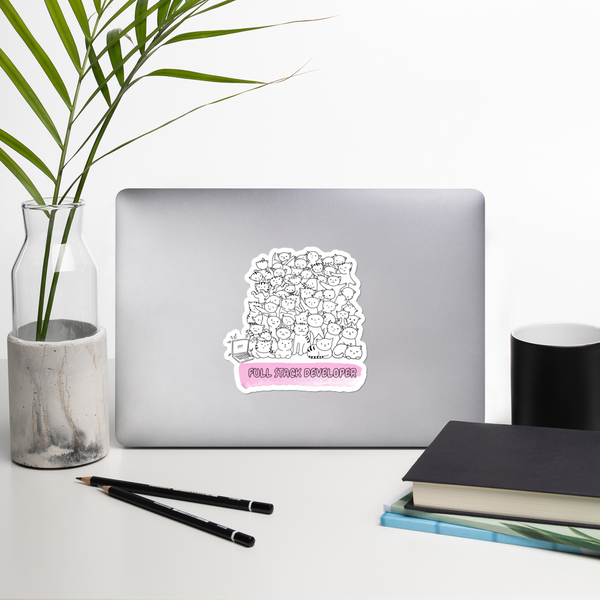 Full Stack Bubble-free stickers