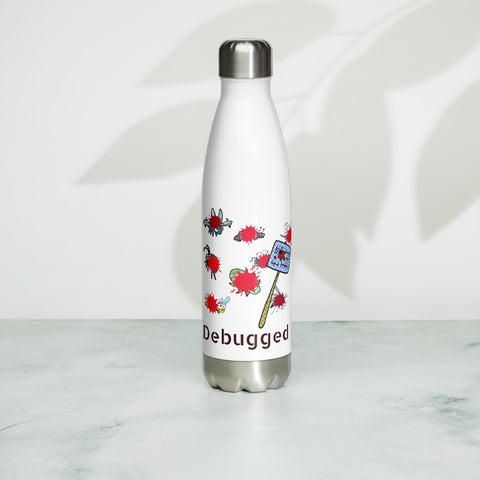 No Bugs here! Stainless Steel Water Bottle