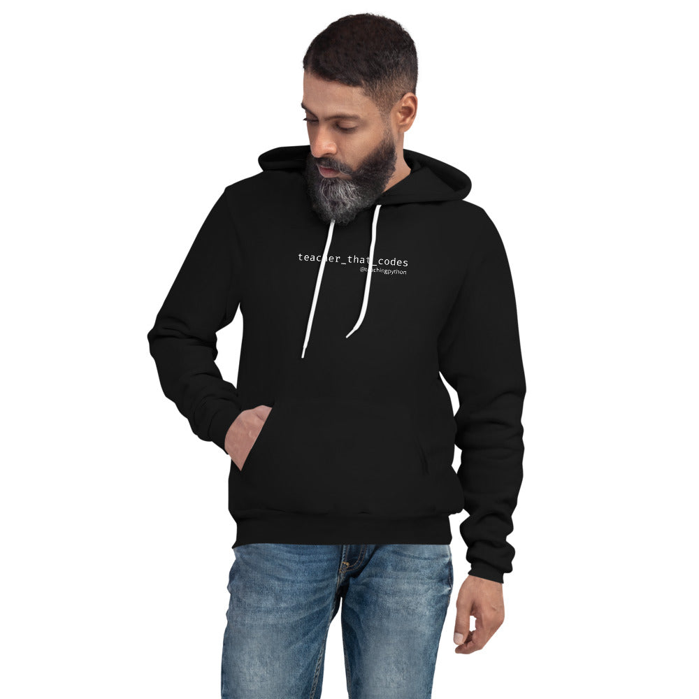 Teacher that Codes | Unisex hoodie