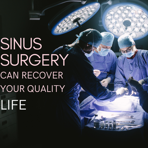 sinus and surgery
