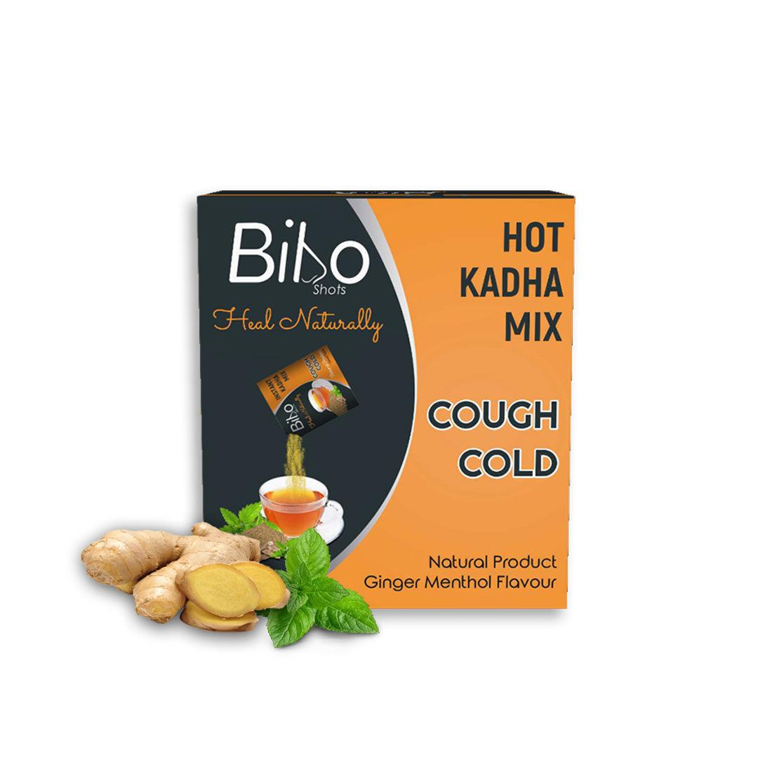 Bibo Hot Kadha Mix | Instant Relief from cough and cold | 8 shots