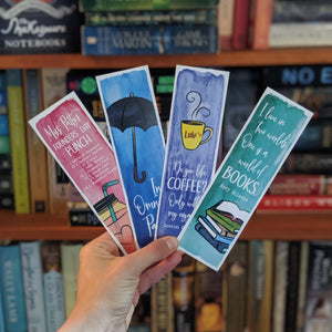 Gilmore Girls Inspired, Watercolor Collection - Bookmarks