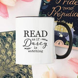 Read as if Darcy is Watching Bookish Mug