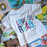 Love to Read - Toddler Short Sleeve Tee