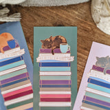 Cat, Books, Coffee / Tea - These are a few of my favoite things bookmark
