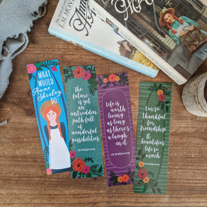 Anne of Green Gables Inspired Bookmark