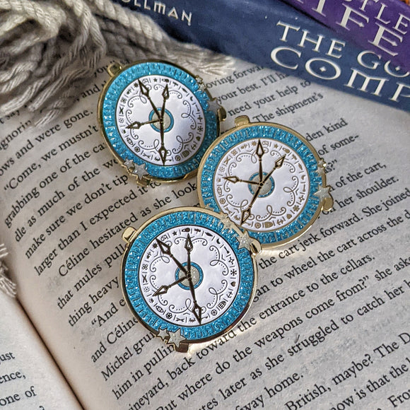 Alethiometer - His Dark Materials inspired - Bookish Pin