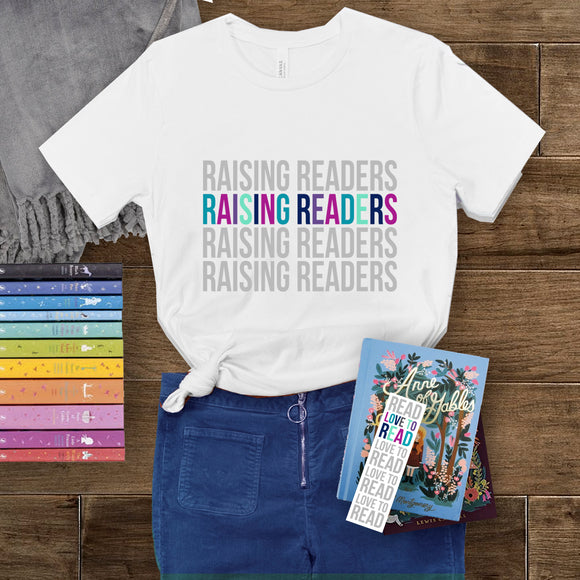 Raising Readers - Short-Sleeve Unisex T-Shirt
