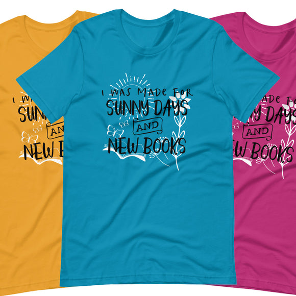 Sunny Days and New Books - Short-Sleeve Unisex T-Shirt