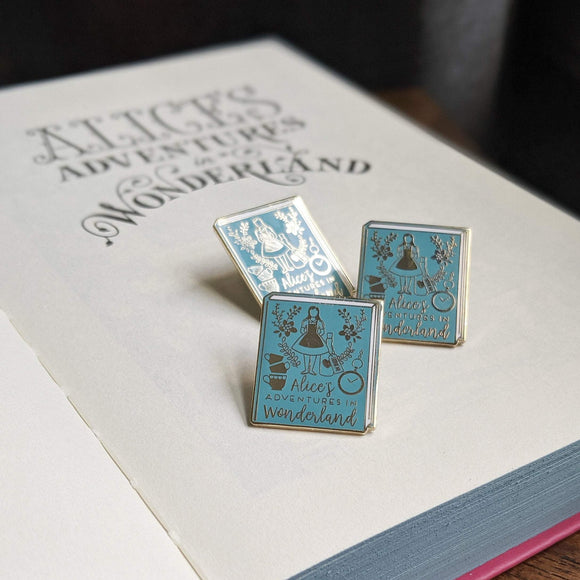 Alice in Wonderland - Bookish Pin