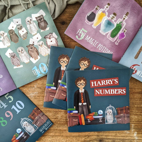 Harry's Numbers, a simple children's counting book