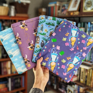 Seconds- Bookish Fandom Book Sleeves