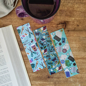 Bookstagram inspired pattern bookmark