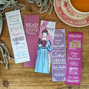 Pride and Prejudice - Jane Austen -  - Bookmark
