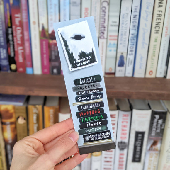 X-Files Inspired - Bookmark
