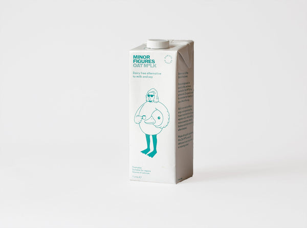 Minor Figures Organic Oat Milk 1L