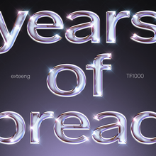 Load image into Gallery viewer, six years of bread – poster